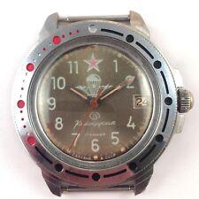 Vintage Soviet Russian VOSTOK Komandirskie WindUp Watch 1980s  *US SELLER* #1352