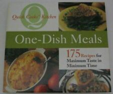 , One-dish Meals (Quick Cooks' Kitchen), Like New, Hardcover