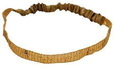 Mia Fashion Sequins + Satin Headband, Headwrap Hair Accessory, Elastic, Gold