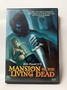 MANSION OF THE LIVING DEAD rare US Severin DVD cult Jess Franco horror movie