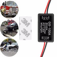 LED 2pc Brake Stop Light Flash Strobe Controller Box Flasher Module Tail Lamp