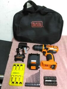 Genuine BLACK+DECKER 20V Max ~ Lith-Ion  Drill/Driver~Battery & Charger ~ Extras