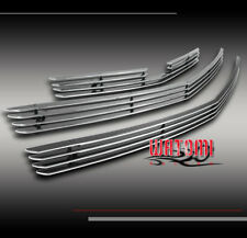 03-06 CHEVY SSR FRONT BUMPER BILLET GRILLE GRILL INSERT UPPER+LOWER 3PCS COMBO