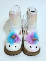 Toddler Girls' American Girl Hillary Fashion Boots - Cat & Jack  White - Size 6