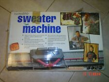 Bond Incredible Sweater Knitting Machine Extension Kit Afghan one flaw-free ship