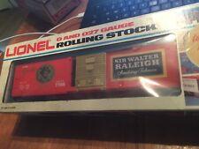 LIONEL 6-7706 Sir Walter Raleigh Box Car LN