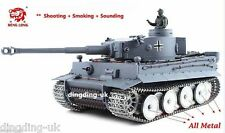 Longues Heng Radio Télécommande RC German Tiger Tank UK -- Platinum Version 1/16