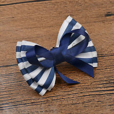 1 Pc Elegant Gift Bow Stripe Decorations Accessories Wedding Bridal Shoe Clip