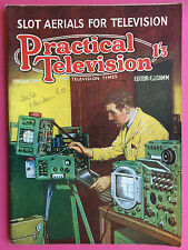 PRACTICAL TELEVISION - February 1957 - Slot Aerials For Television - Hobby Mag