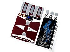 STICKERS for STAR WARS, LEGO 7964 Republic Frigate Bonus Plaque sticker & Extras