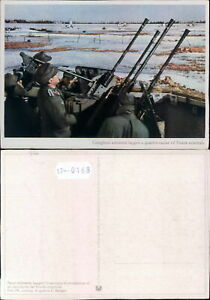 PROPAGANDA WW2-DEUTSCHLAND GERMANY-WEHRMACHT HEER-ANTI AIRCRAFT-B12-168
