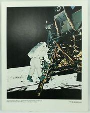 Edwin E Aldrin Lunar Module 69-HC-680 NASA Space Apollo Vintage Photo Print