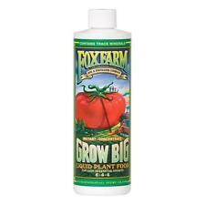 FoxFarm Grow Big SOIL Liquid Concentate 16oz 1 Pint SAVE $$ W/ BAY HYDRO $$