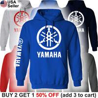 Yamaha Factory Racing Hoodie Hooded Sweatshirt Sweater Shirt Motorsport Men Team
