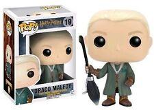 Funko Pop Draco Malfoy Quidditch # 19 Harry Potter Vinyl Figure