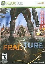 Fracture (Microsoft Xbox 360, 2008) DISC ONLY