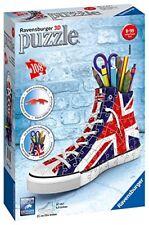 Ravensburger 11222 - Italy Sneaker Union Jack Puzzle 3d Portapenne