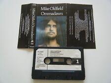 MIKE OLDFIELD OMMADAWN CASSETTE TAPE 1975 PAPER LABEL VIRGIN UK TCV 2043