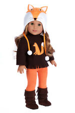 Foxy - 18 inch American Girl Doll Clothes - Hat, Blouse, Leggings, Boots