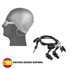 Auriculares con cable impermeables para deportes jack 3,5 mm para buceo natacion