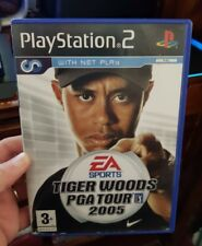 Tiger Woods PGA Tour 2005 (no booklet) - PLAYSTATION 2 PS2 - FREE POST