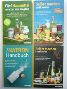 Fünf Hausmittel ersetzen eine Drogerie Selber machen-Küche + Haut & Haar+Natron