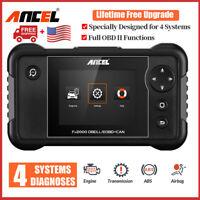 2020 Check Engine Transmission ABS Airbag Code Reader OBD2 Scanner Diagnostic US