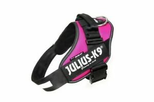 Julius-K9 IDC Powerharness Dog Harness - Size Baby 1 (3xs) Dark Pink
