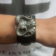 GENUINE Alchemy Gothic Bracelet - Gears Of Aiwass | Men's Fashion Wrist Strap