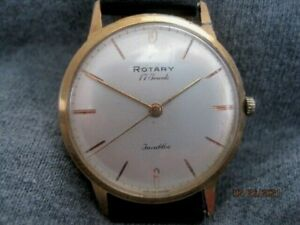 Vintage 70's Swiss Made Gold Plated ROTARY Gents Mechanical Watch.
