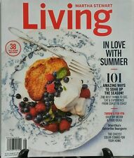 Martha Stewart Living July Aug 2016 In Love With Summer Recipes FREE SHIPPING sb