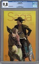 Saga #43 CGC 9.8 White Pages Fiona Staple Brian K. Vaughan
