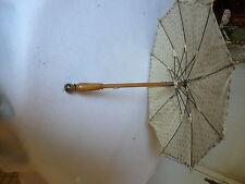 parapluie ombrelle de poupée ancienne type Jumeau Bleuette 46cm bécassine