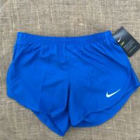 "Nike Women's Dry Tempo Core Blue 3"" Running Shorts Dry-Fit AJ4713 403"