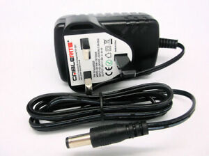 15v 1A 5.5mm/2.1 12v jump-starter power-pack power supply charger lead