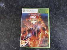 Ultimate Marvel Vs Capcom 3 Xbox 360 UK PAL with manual