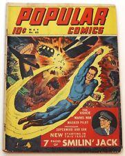 New ListingPopular Comics #63 ( Prof. Supermind & Son, Martan The Marvel Man+, Dell 1941 )