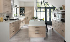 Broadoak Rye Oak Kitchen, Rigid Built Kitchens, Shaker style, Second Nature