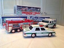 HESS OIL HOLIDAY TRUCKS 1993, 2004, 2005 NEW IN BOX