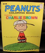 Peanuts Coloring Book Featuring Charlie Brown, 1972