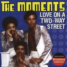 THE MOMENTS - Love on a Two Way Street - NEW Sealed CD
