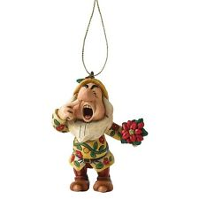 Disney Showcase Jim Shore Sneezy  Hanging Figurine Ornament