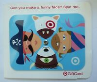 Target Gift Card Spin a Funny Face, Bullseye Dog - 2006 - with backing -No Value