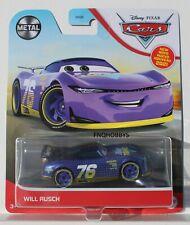 Disney Pixar Cars Will Rusch Purple Grr63 Fnqhotwheels Ca06