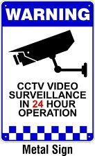 Warning CCTV Security Surveillance Camera METAL Safety Sign 150x225mm