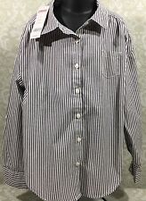 NWT Gymboree Boys 7 Striped Oxford Long Sleeve Button Down Shirt Retail $24.75