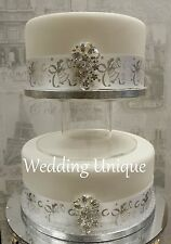 "8"" Acrylic separator cake stand, Wedding Cake stand, perspex cake stand"