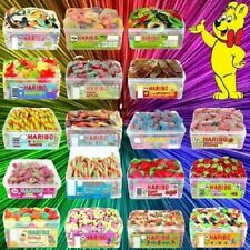 2 X FULL TUBS HARIBO SWEETS KIDS HAMPER CANDY BOX PARTY FAVOURS TREATS