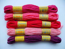 DMC TAPESTRY THREAD color PINKS (set B)
