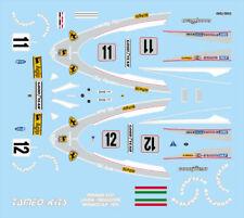 kit FERRARI 312 T F1 GP MONACO 1975 1° N.LAUDA - CAMPIONE DEL MONDO TAMEO WCT75